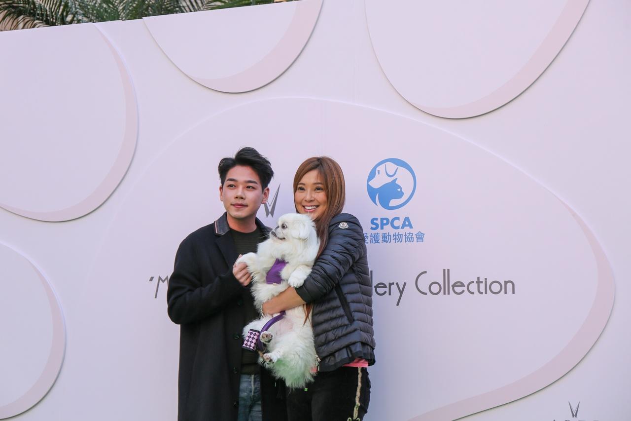 香港愛護動物協會會長傅明憲表示非常榮幸得到ARTĒ Madrid支持,日後會繼續為保護動物出力。(張浩維攝)