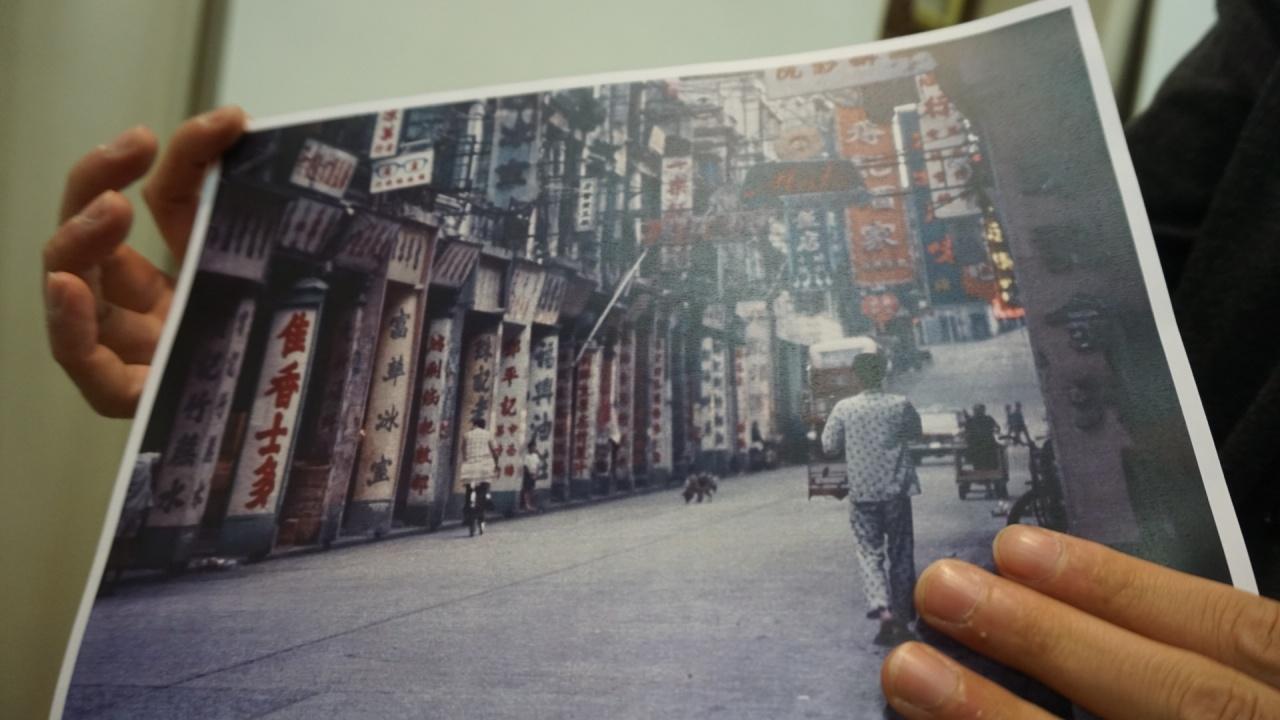 CACHe項目經理梁梓豪指,以往60年代滿街都是落地招牌。