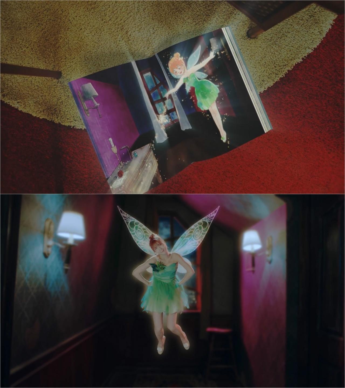 Momo成為Tinkerbell,9名少女全部「穿越」到童話故事!(網上截圖)