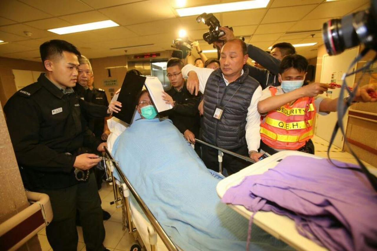 曾荫权不适  转送伊利沙伯医院羁留病房  法官22日宣判