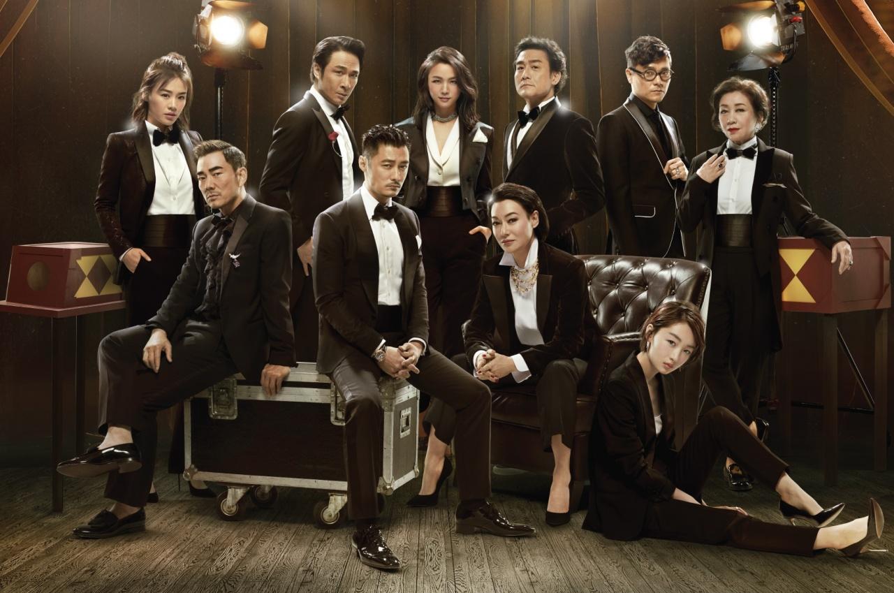 看看香港電影金像獎各位明星的紅毯造型!周秀娜一身低胸皮裙,真空上陣,最為吸睛!