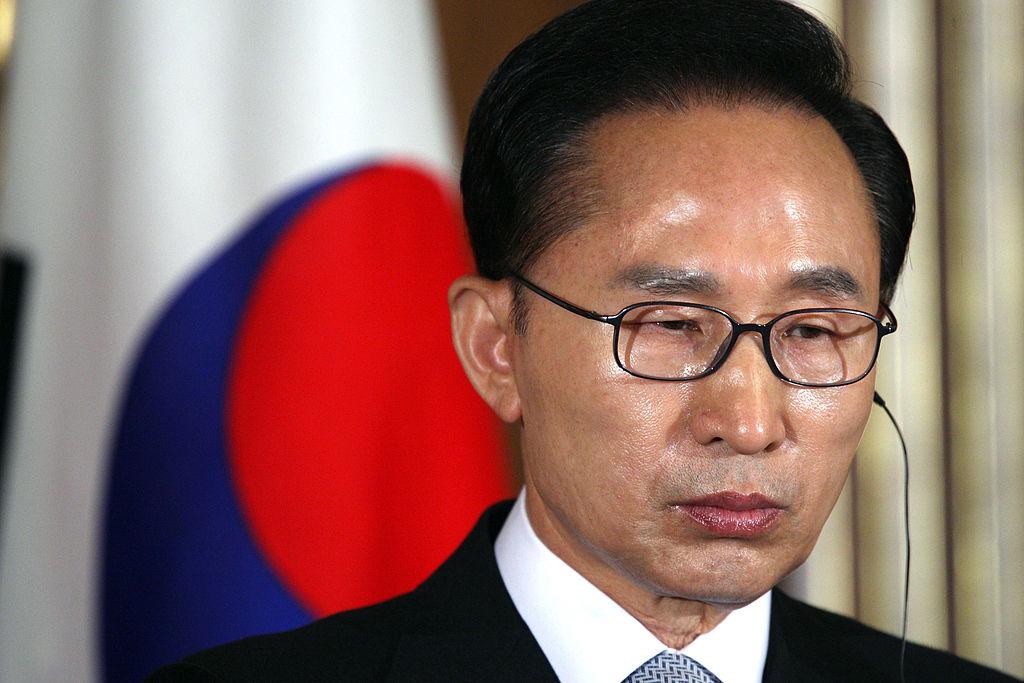 李明博自2008至2013年間成為韓國第17任總統。(Getty Images)