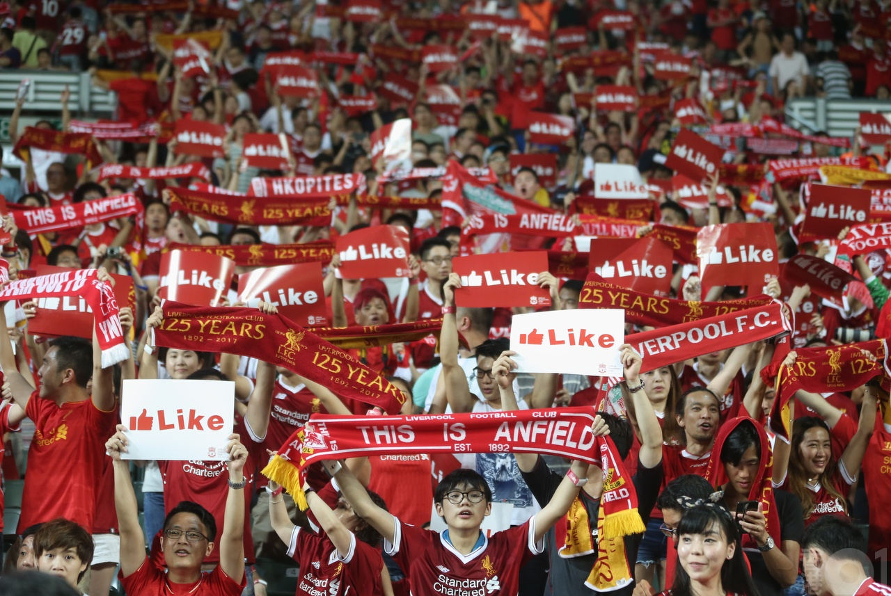 我是香港人,所以支持香港足球
