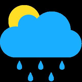 短暫陽光,有驟雨